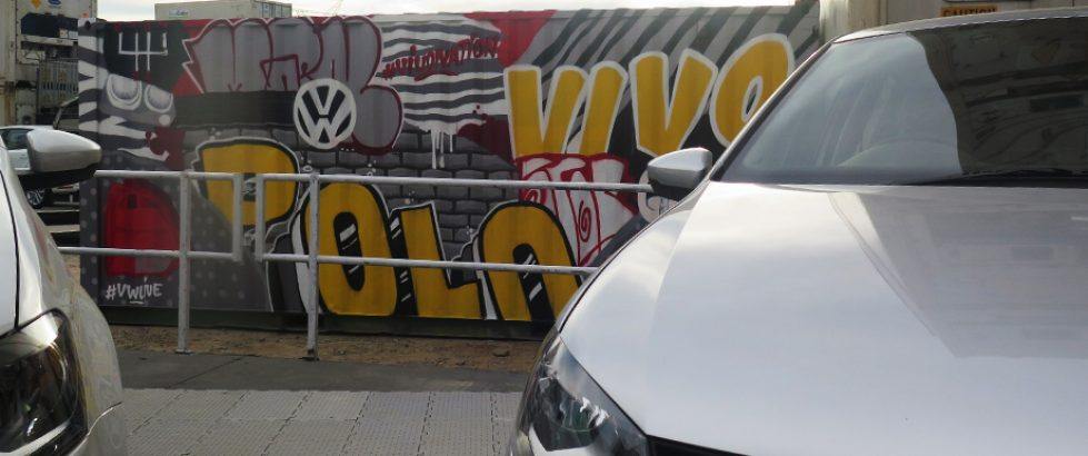 VW Polo Graffiti